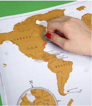 Mapa Para Marcar Viajes.Lugares Visitado Mis Sueteres Feos